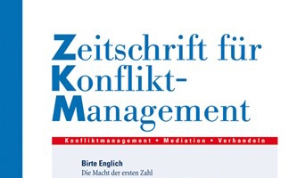 Zeitschrift für Konfliktmanagement